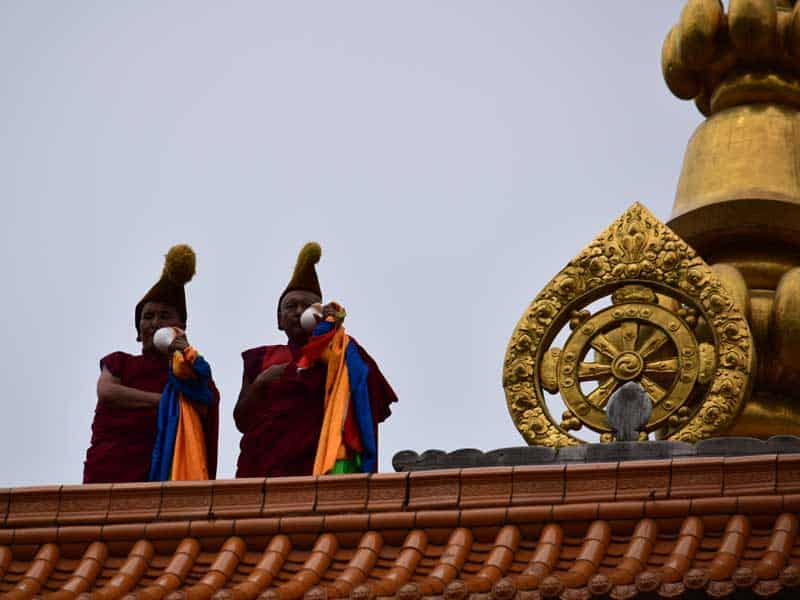 labrang monastery noon lesson